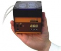 Compact LAMBDA peristaltic pump that fits in your hand