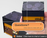 Personal assistance by live chat tool - Just ask your questions!